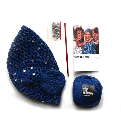 Knit your own Agnetha hat in the ABBA Museum store