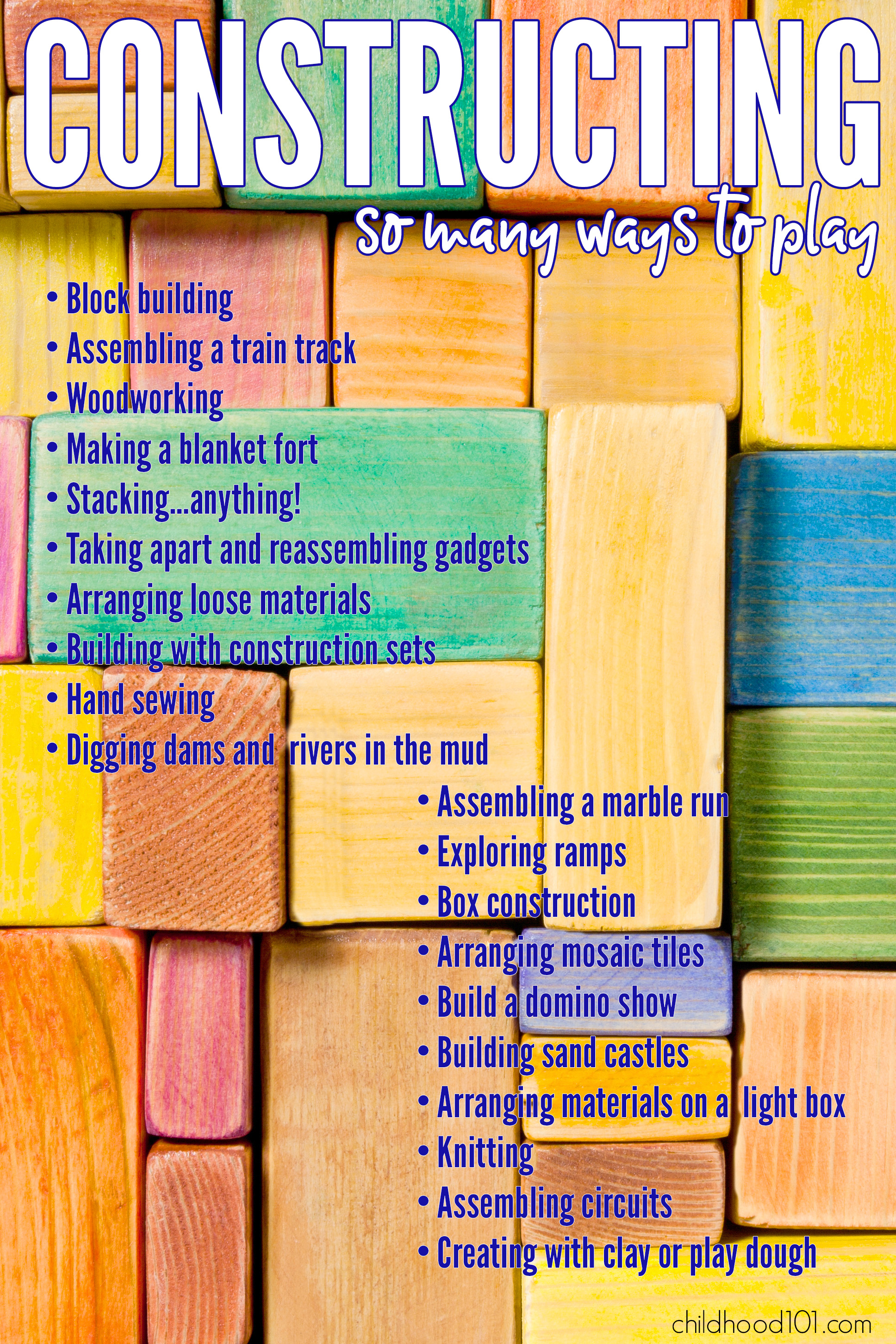 Types Of Play Building And Constructing
