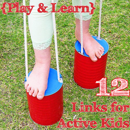 play learn active games