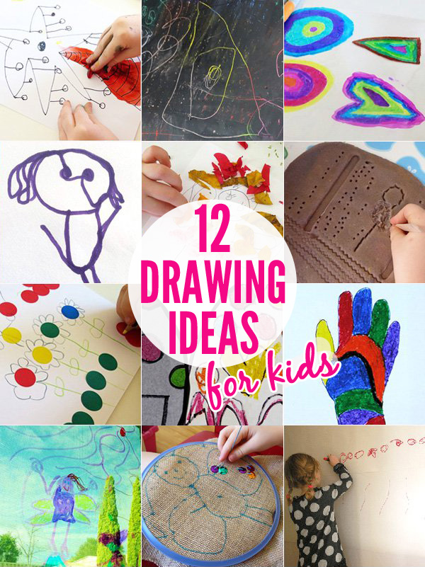 Drawing Ideas For Kids Age 12 : drawing, ideas, Drawing, Kids:, Activity, Ideas