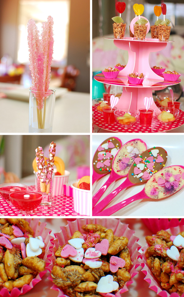 Party Ideas Sweet Heart Tea Party