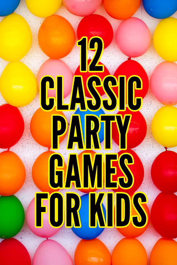 12 awesome party games