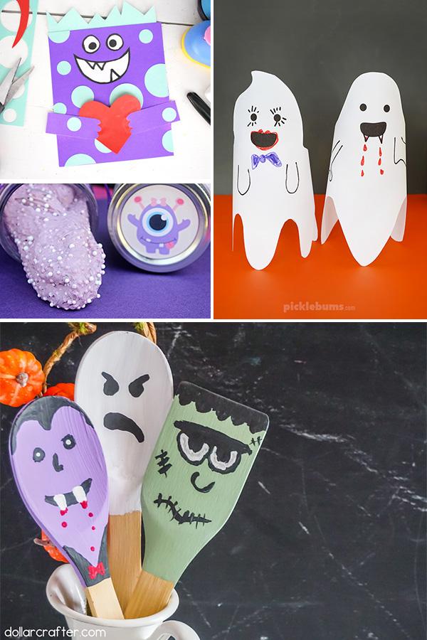 Halloween Kids Art Ideas