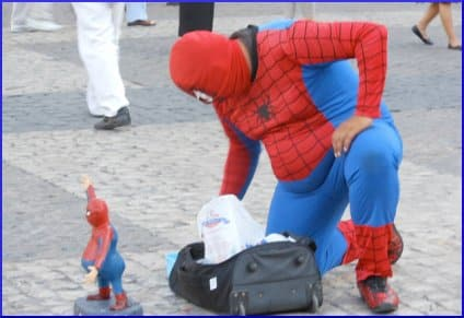 Overweight Spiderman