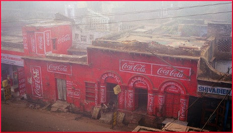 Coca Cola building in India