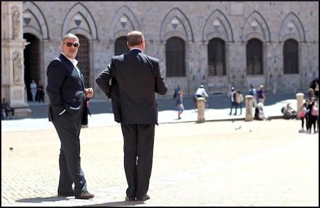 Italian Men in Suits