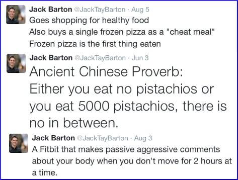 Jack Barton tweet humor