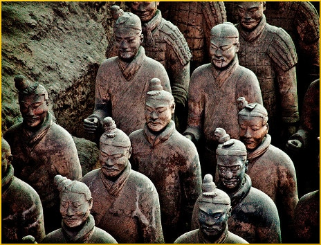 terracotta-warriors-statues