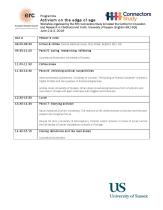 Workshop Programme 2