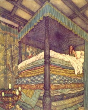 Image result for princess and the pea