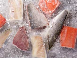 assorted frozen fish