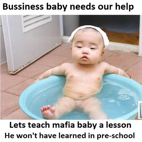 25 business baby memes