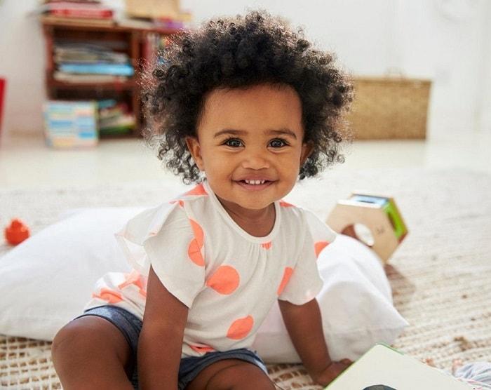 8 black baby girl