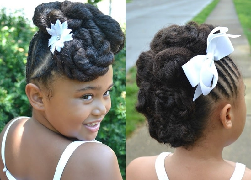 Flower Girl Hairstyles 25 Ideas To Slay Weddings