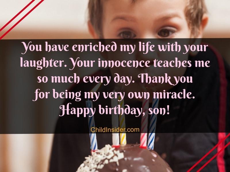 Happy My Son Wishes Birthday Quotes