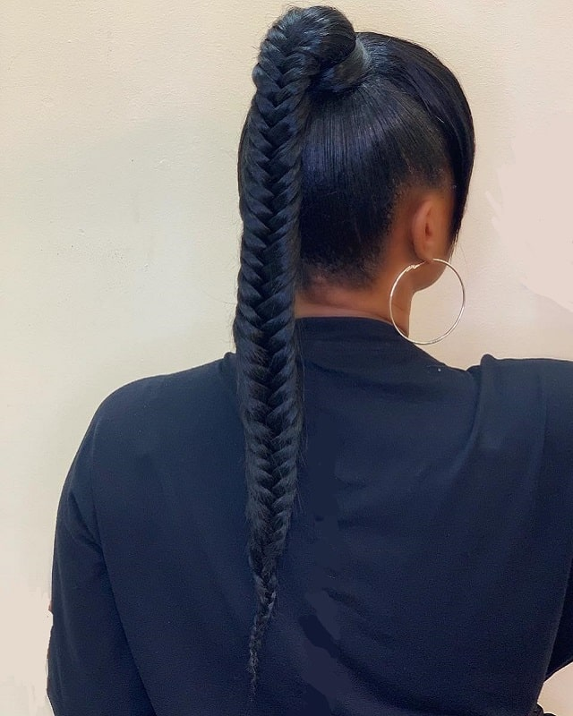 15 Adorable Ponytail Hairstyles For Black Girls 2020 Trends