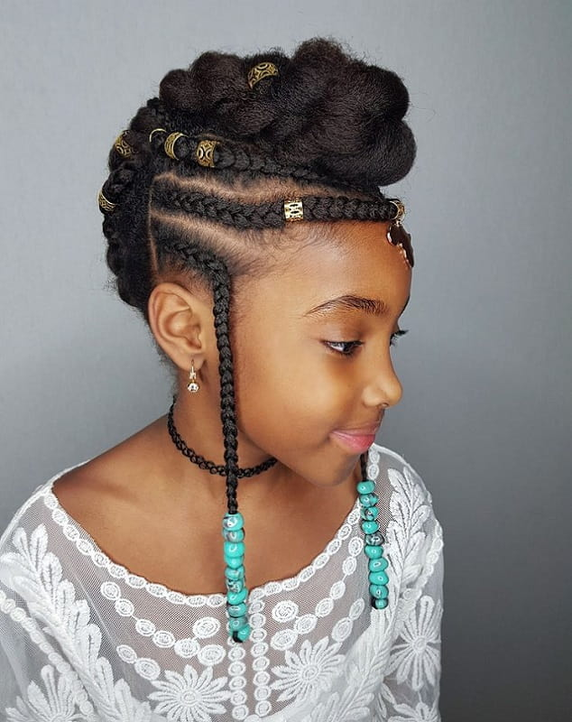 Hairstyles For 9 Year Olds Black Girl : hairstyles, black, African, American, Hairstyles, Styles, Andrew