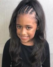glam hairstyles 10 year