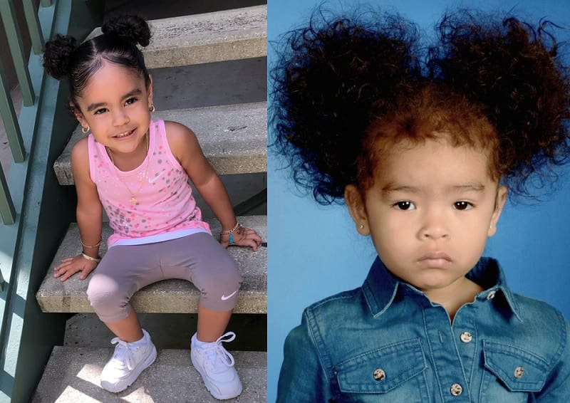 21 Cute Hairstyles For Mixed Little Girls We Ve Found This Year