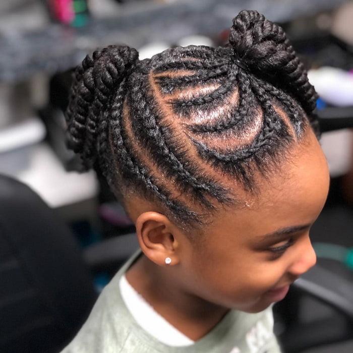 21 Best Little Black Girl Hairstyles For School 2020 Trends