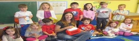 Child Life Specialist visits a preschool
