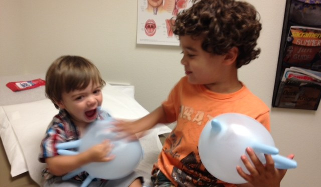 How to Entertain Your Kids at the Doctor's Office