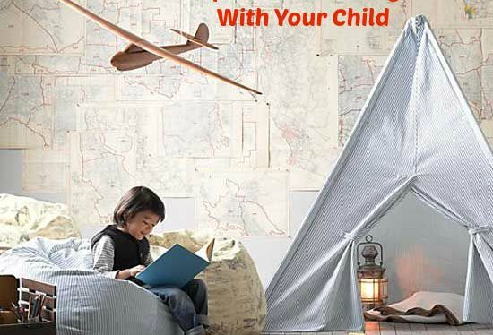 Easy Ways to Designate Space for Reading With Your Child