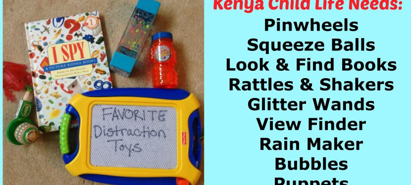 The Kenya Child Life Team Needs Your Help!