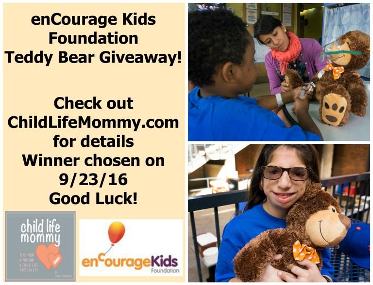 encourage-kids-foundation-teddy-bear-giveaway