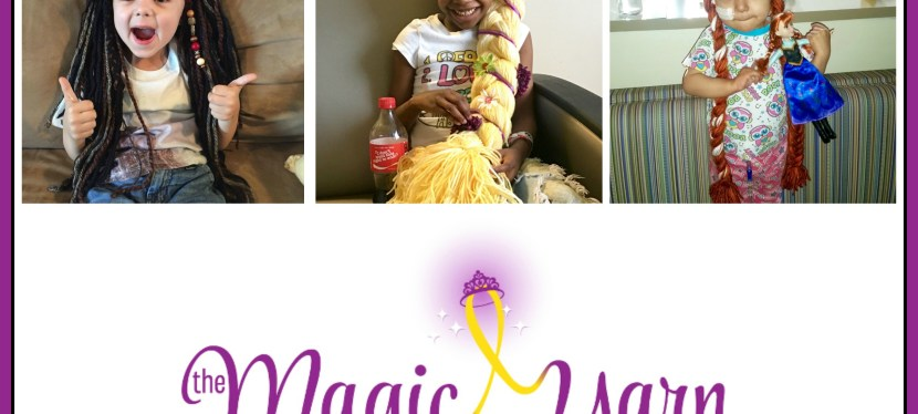 Bringing a Little Hope and Happiness to Kids with Cancer Through The Magic Yarn Project