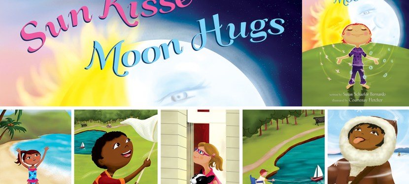 Helping Kids Cope with Trauma, Loss and Separation: Spotlight and Giveaway on Sun Kisses, Moon Hugs