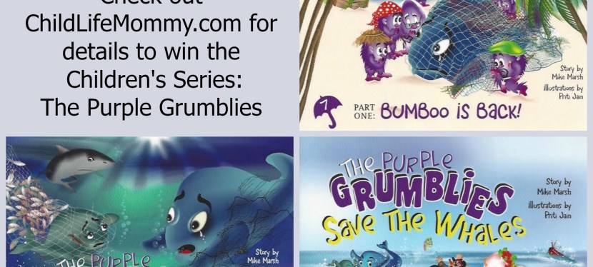 The Purple Grumblies Children's Series: Spotlight and Giveaway