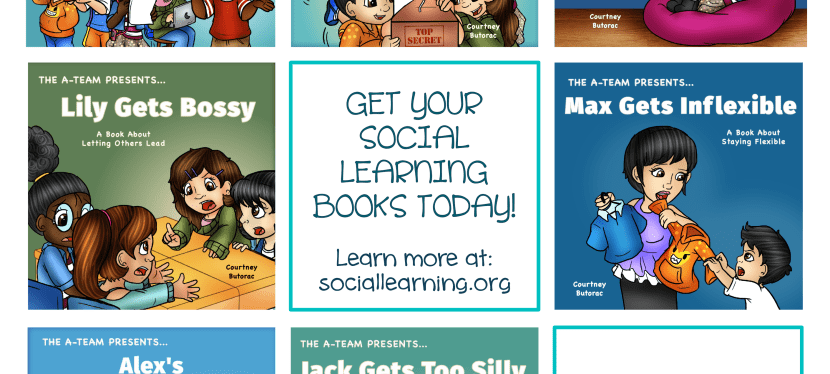 How to Deal With Common Social Challenges: Spotlight and Giveaway of Social Leaning Books
