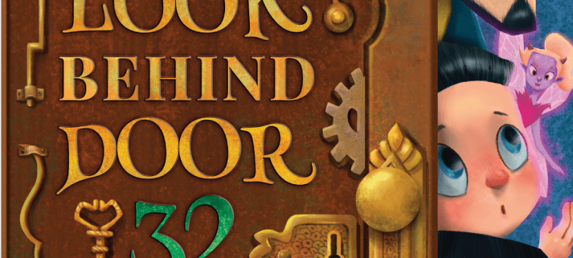 "Children's Book, ""Don't Ever Look Behind Door 32"" Spotlight and Giveaway"