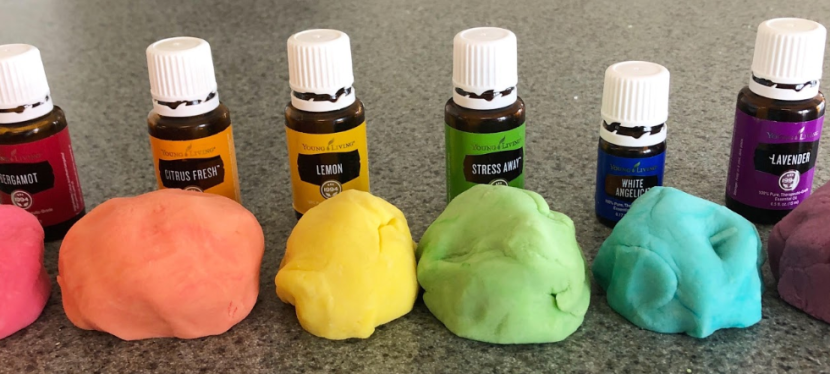 Play dough and Slime Essential Oil Recipes