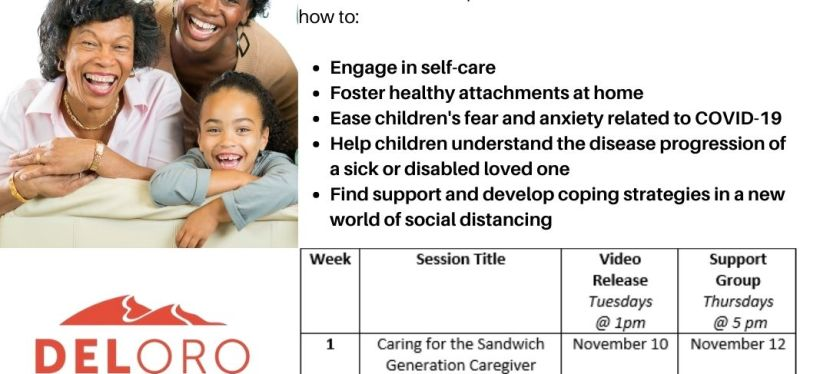 Self-Care Tips for Caregivers: Sandwiched Series