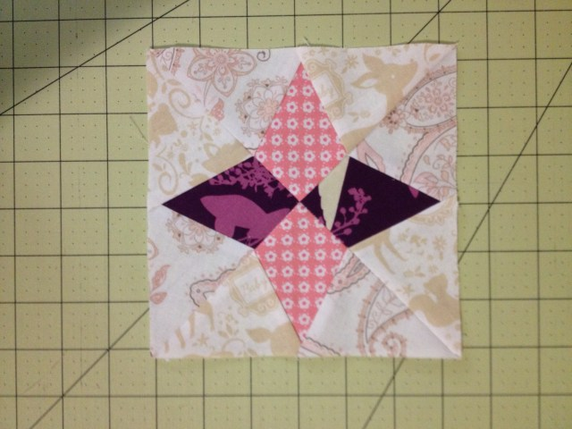 Farmer's Wife Block #66 Periwinkle