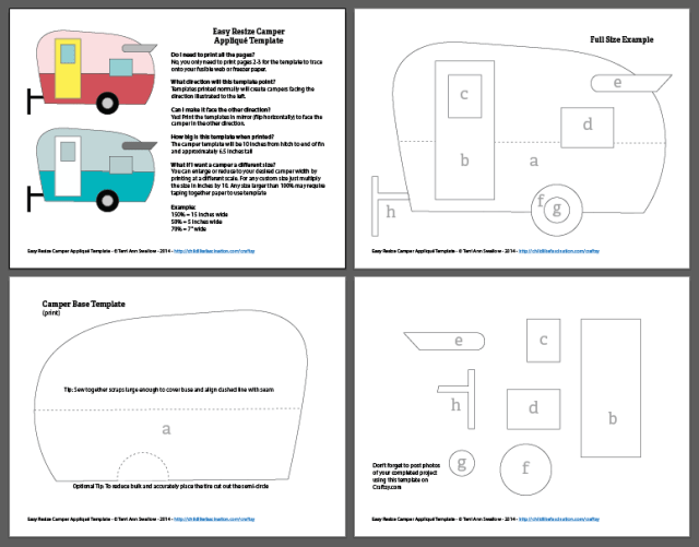 Preview the downloadable PDF template with print instructions