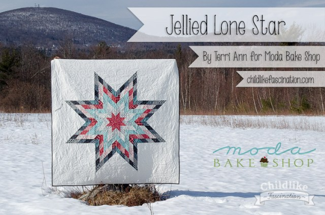 Jellied Lone Star Tutorial by Terri Ann for Moda Bake Shop
