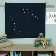 Double Dipper – A Mini Quilt