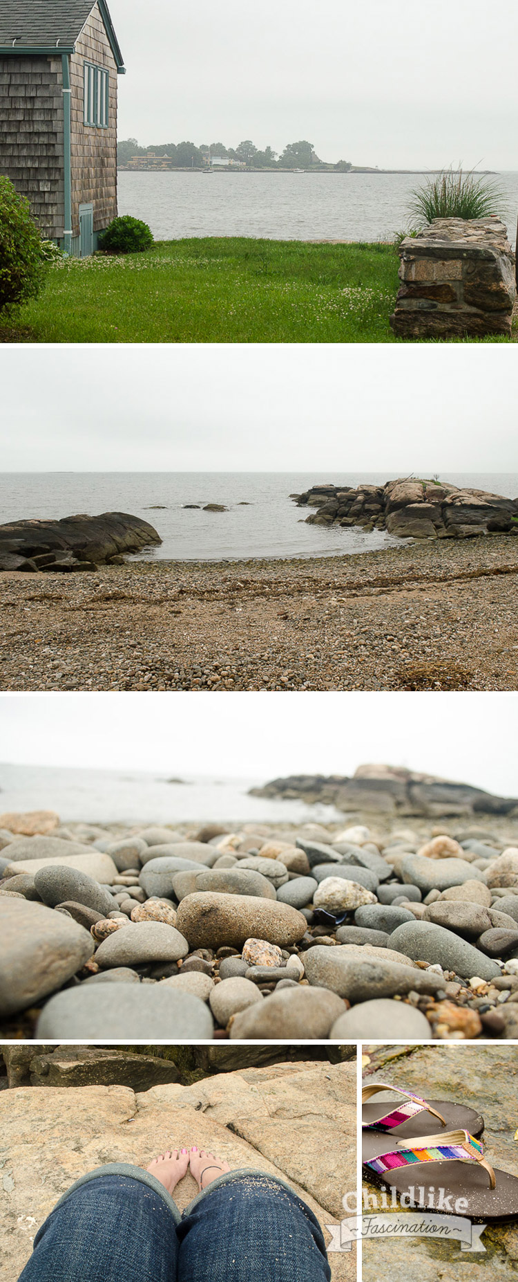 Photos from Rocky Beach on the Coast of Connecticut