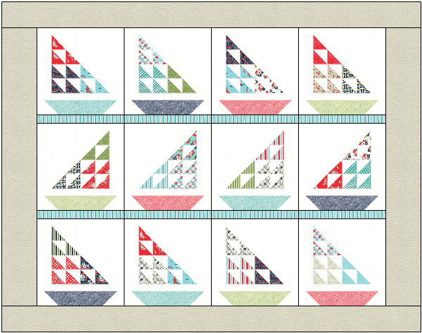 Sailboat Wall Hanging Plans