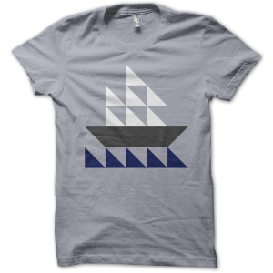 Sailboat T from Patchwork Threads