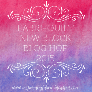 Fabri-Quilt Blog Hop is On!
