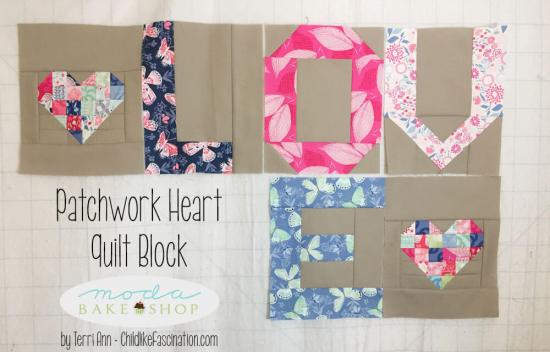 Love Spell it with Moda and Patchwork Heart