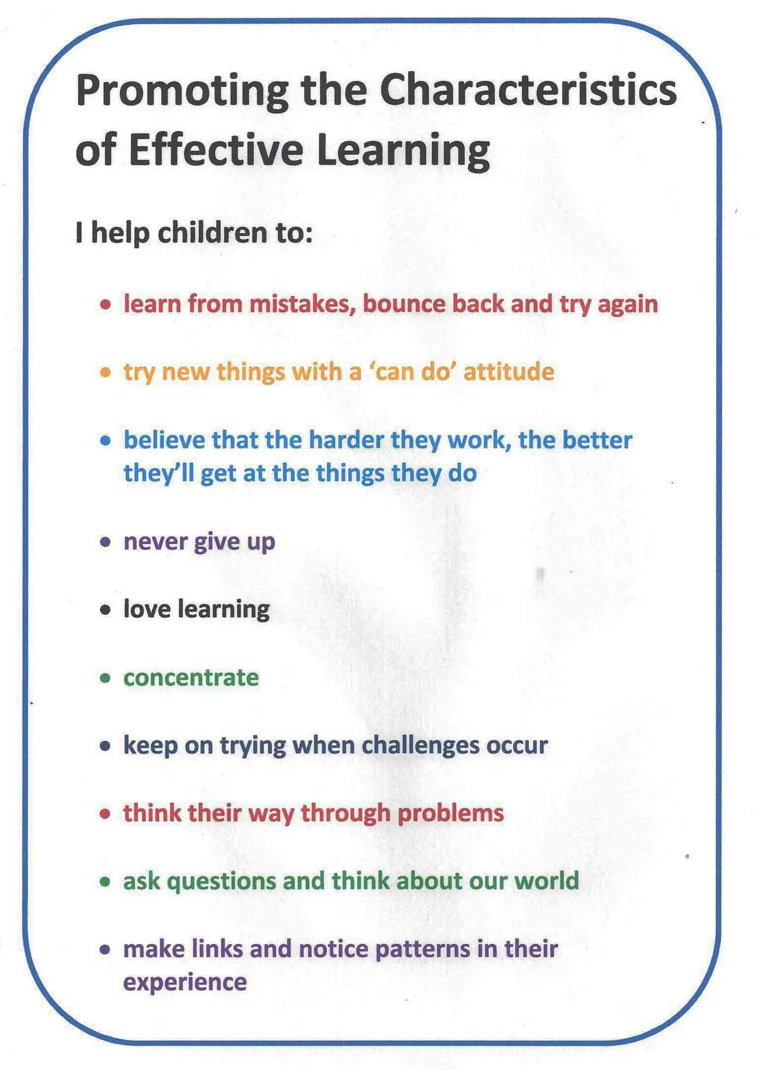 10 Ways For Childminders To Put The Characteristics Of