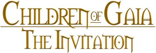 Children of Gaia: The Invitation - Logo Title