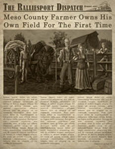 War & Horses: Lowry Farm Article