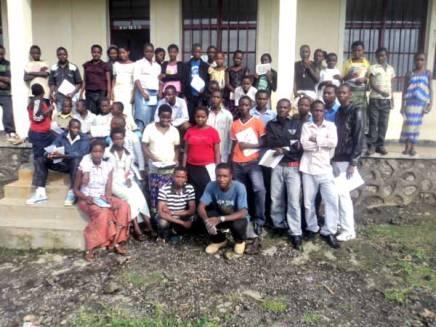 Clubs Génération nouvelle à Kitchanga