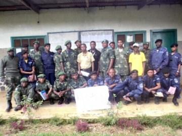 Formation des militaires et policiers à Mwenga